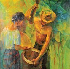 Premier Filipino Art Gallery specializing in buying and selling Philippine National Artists like Vicente Manansala. Filipino Art, Filipino Culture, Philippine Art, Art Database, Art Auction, Asian Art, Art Blog, Contemporary Art, Art Photography