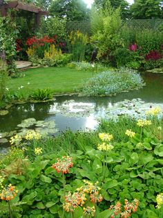 Garden pond. Click on link below to get preapproved to buy your dream Louisiana home. www.publicservicemortgage.com