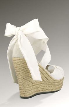 Beautiful Wedged Shoes