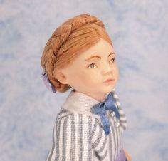 Miniature Dollhouse Doll 1:12 Scale Child