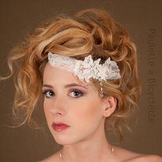 Accessoire de coiffure, bandeau, accessoire mariage #bijouxdemariage