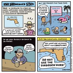Cartoon: The submerged state