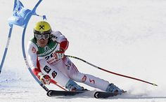 Hermann Maier, the most committed skier ever.