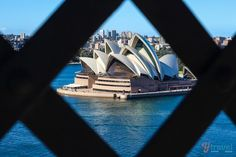View walking across the Sydney Harbour Bridge - one of the best short walks in Australia