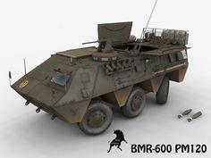 Bmr Max - 3D Model