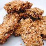 Home Made Granola Bars (a simple, healthy recipe)