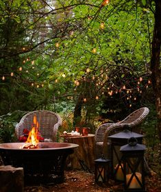 """: """"It's a fire pit kind of Sunday ✨ Outdoor Dining, Outdoor Spaces, Outdoor Decor, French Country Cottage, Country Living, Country Chic, Konmari, Green Life, Hygge"""