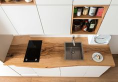 Finde ausgefallene Küche Designs: Küchenarbeitsplatte mit Wiedererkennungswert. Entdecke die schönsten Bilder zur Inspiration für die Gestaltung deines Traumhauses.