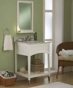 Photo Album Gallery Give your bathroom a quick update with this stylish white vanity With one door one drawers and slim styling this vanity from Glenwood is both mo u