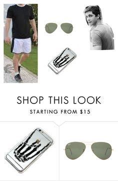 """""""Unconditionally - Cap. 8"""" by thaliasalvatore ❤ liked on Polyvore featuring Ray-Ban"""