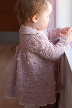 Ravelry: TouchOfVanilla's Knutekjole - knitting pattern from Dale of Norway / Dalegarn #237, Baby