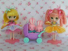 Mothers Day Special..Two New Petite Blythe Doll par KittyKatDance