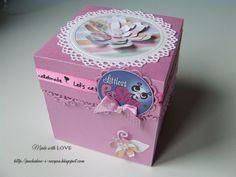 Littlest Pet Shop pudełko urodzinowe z figurką