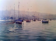 Watercolor by Joseph Zbukvic