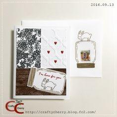 Crafty Cherry * stamp 2 / Jar Of Love Photopolymer Bundle(スタンピン・アップ)