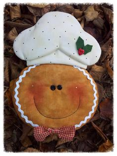 gingerbreadman hot pad w/ pattern Gingerbread Christmas Decor, Gingerbread Ornaments, Gingerbread Decorations, Felt Ornaments, Felt Christmas, Christmas Time, Christmas Decorations, Christmas Ornaments, Gingerbread Man
