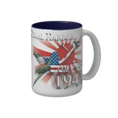 Pearl Habor 7th Dec 1941 Zweifarbige Tasse  20% OFF ALL ORDERS   Up to 60% Off - #VETERANS DAY SALE!     Ends Wednesday     Use Code: ZVETDAYSALES