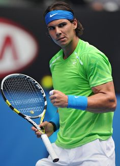 Rafael Nadal - a fantastic competitor with a truly inspiring 'never-say-die attitude