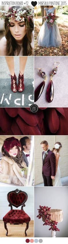 Inspiration Board #12 – Marsala, Pantone's Colour of the Year