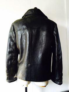 Vintage Leather Jacket, Leather Jackets, Aachen Germany, Custom Bobber, Lifestyle Fashion, Bobbers, Vest Jacket, Vests, Old School