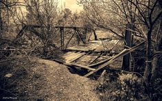 https://flic.kr/p/GjYsqF   Bridge No More   Found this Bridge what's left of it on an old back road in Oklahoma.