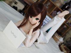 Smart Doll Ivory by HapiBeat