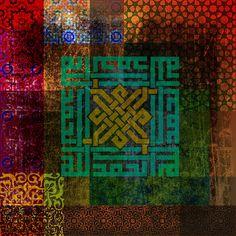 DesertRose///Islamic Motives Painting