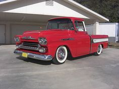 1958 Chevrolet Cameo Truck Maintenance of old vehicles: the material for new cogs/casters/gears/pads could be cast polyamide which I (Cast polyamide) can produce