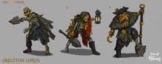 Sea of Thieves: 100 Concept Art Collection Fantasy Character Design, Character Drawing, Character Inspiration, Sea Of Thieves, Pirate Art, Ghost Ship, Deep Sea, Fantasy Characters, Concept Art