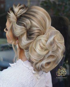 2020-12-31_10-30-56 Cute Hairstyles, Wedding Hairstyles, Beautiful Hairstyles, Bride Makeup, Hair Makeup, Glamour Hair, Evening Hairstyles, Hair Creations, How To Make Hair