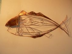 Copper Sculpture Metel Abstract