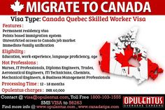 Competent people who have education and skills that are in demand can move for a better life with better opportunities. They can change their life and also make immediate economic contribution to the state of Quebec. They need to apply for Canadian permanent residency through Quebec Selected Skilled Workers Program or Canada Quebec Skilled Worker Visa.