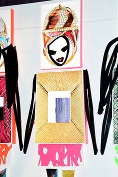 Store Window for Holiday 2014, taken at the Kara Ross x Donald Drawbertson Collaboration Store Event : News Photo