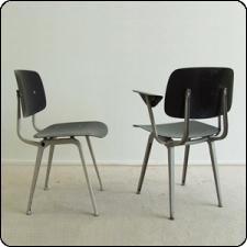 Friso Kramer - Revolt dinner chair