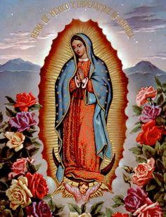 IMAGENS DE SANTOS E ORAÇÕES: Nossa Senhora de Guadalupe