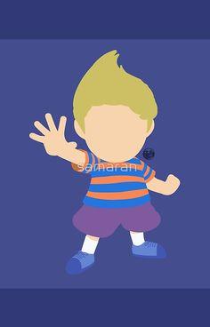 Lucas (Blue) - Super Smash Bros.