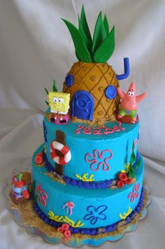 Spongebob Squarepants on Cake Central