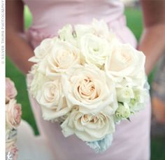 05272012 – White and Cream Bridesmaid Bouquet 05272012 - White and Cream Bridesmaid Bouquet – The Knot