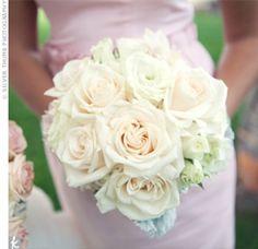 05272012 – White and Cream Bridesmaid Bouquet 05272012 - White and Cream Bridesmaid Bouquet – The Knot