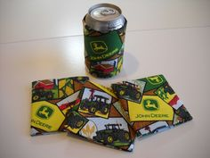Kustom Koozies that I made - really easy!