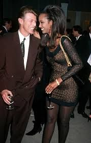 David Bowie and Iman in the 90's