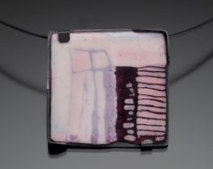 JAN SMITH-CA Enamel  IDEA: ceramic - use slips for pinks. Add red in one