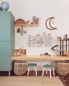 ~BOYS ROOM~ This is the other side of my boys shared room and oh how they love it! They have so much space to play, create, relax and they… Nursery Decor Boy, Boys Room Decor, Kids Room, Room Girls, Shared Boys Rooms, Toddler Rooms, Toy Rooms, Fashion Room, Eclectic Decor