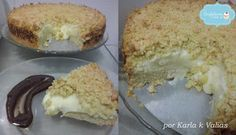 Creative: Torta Cremosa De Leite Condensado Com Farofa Crocante E Ganache De Chocolate Ao Leite