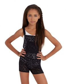 Lace Overall - Child | Childrens Leotards | Capezio | Capezio