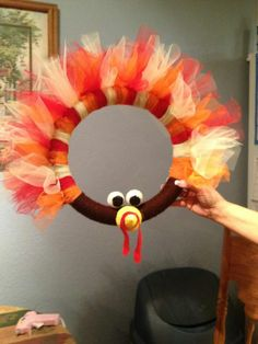 Thanksgiving Wreath. i have a wreath obsession.