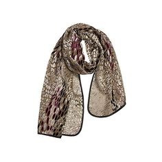 Winding River Silk Velvet Scarf (145 SAR) ❤ liked on Polyvore featuring accessories, scarves, evening shawls, silk wrap shawl, silk scarves, silk shawl and holiday scarves