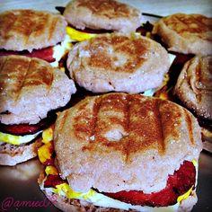 Breakfast sandwiches to go all week long