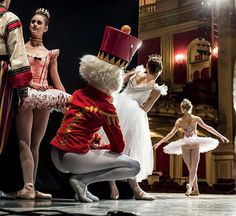 In the wings of The Nutcracker, The Boston Ballet.....