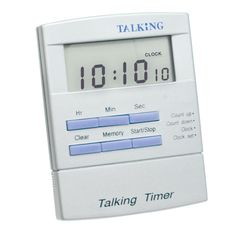 Spanish Talking Timer for the Blind and Visually Impaired - Spanish Products - MaxiAids